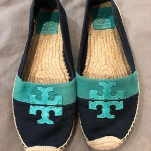 Tory Burch espadrille loafers
